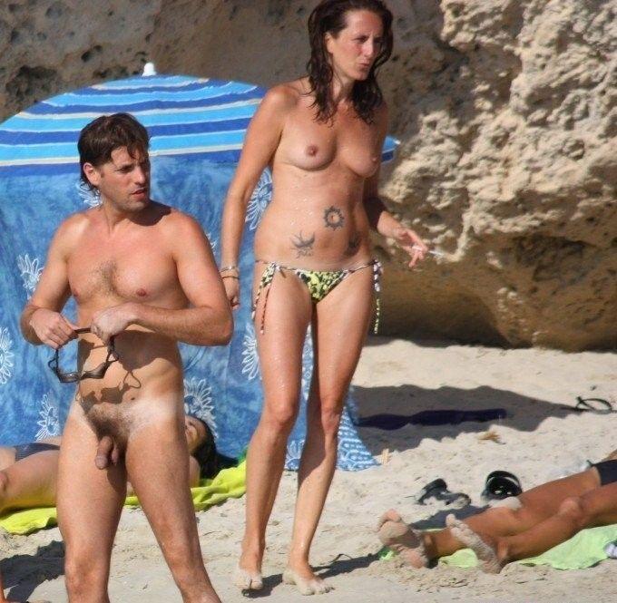 Нудистский Пляж Снято Скрытой Камерой - Нудизм И Натуризм