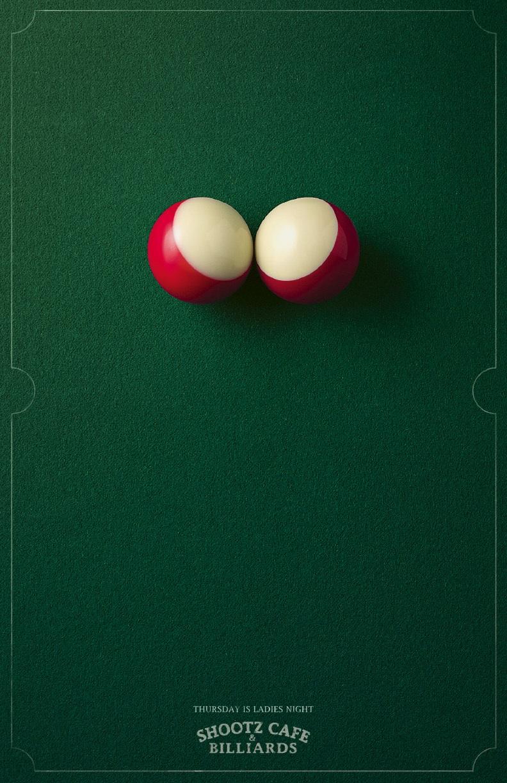 Реклама постеров бильярда