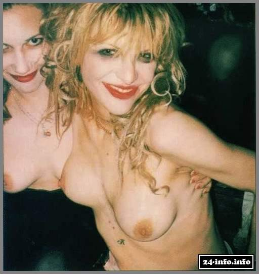 Courtney love topless pics