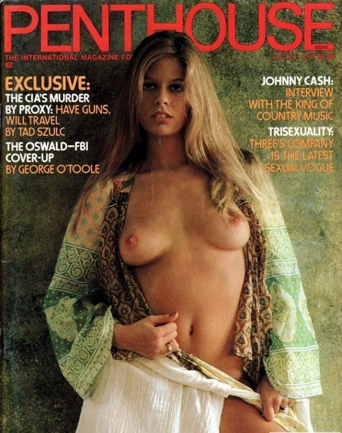 Nude girls from penthouse magazine