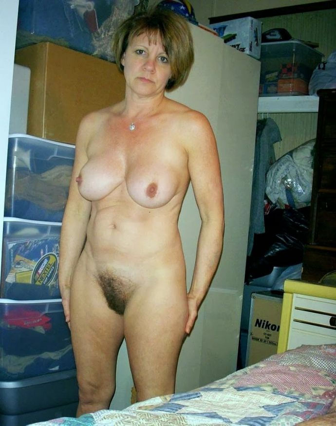 Completely naked matures